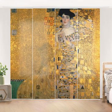 Product picture Sliding curtains set - Gustav Klimt -...