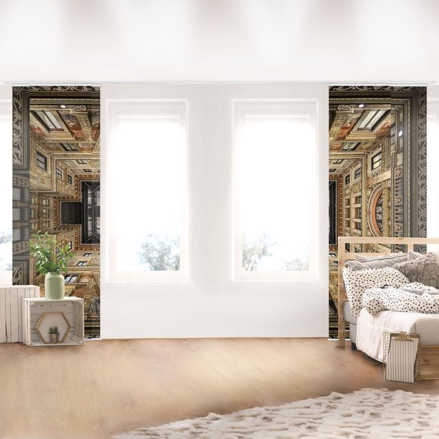 Produktfoto Schiebegardinen Set - Galleria Sciarra in Rom - 5 Flächenvorhänge