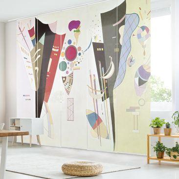Immagine del prodotto Tende scorrevoli set - Wassily Kandinsky - Reciprocal Accord  - 5 Pannelli