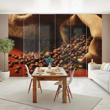 Immagine del prodotto Tende scorrevoli set - Dulcet Coffee - 6 Pannelli
