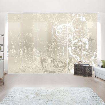 Immagine del prodotto Tende scorrevoli set - Nacre Ornament Design - 6 Pannelli