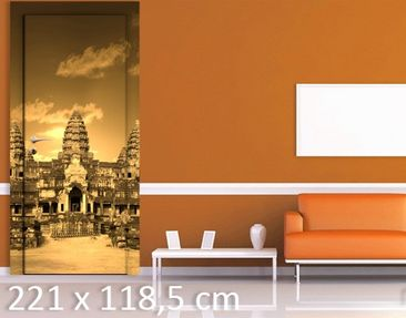 Product picture Door Wall Mural Temple