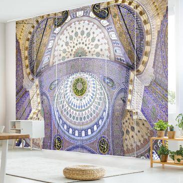 Produktfoto Schiebegardinen Set - Blaue Moschee in...