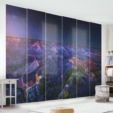 Immagine del prodotto Tende scorrevoli set - Grand Canyon Night - 6 Pannelli
