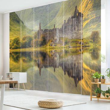 Immagine del prodotto Tende scorrevoli set - Kilchurn Castle In Scotland - 6 Pannelli