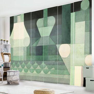 Produktfoto Schiebegardinen Set - Paul Klee - Schleusen - 6 Flächenvorhänge