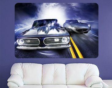 Produktfoto Selbstklebendes Wandbild Fast & Furious