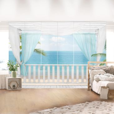 Product picture Sliding curtains set - Holiday In...