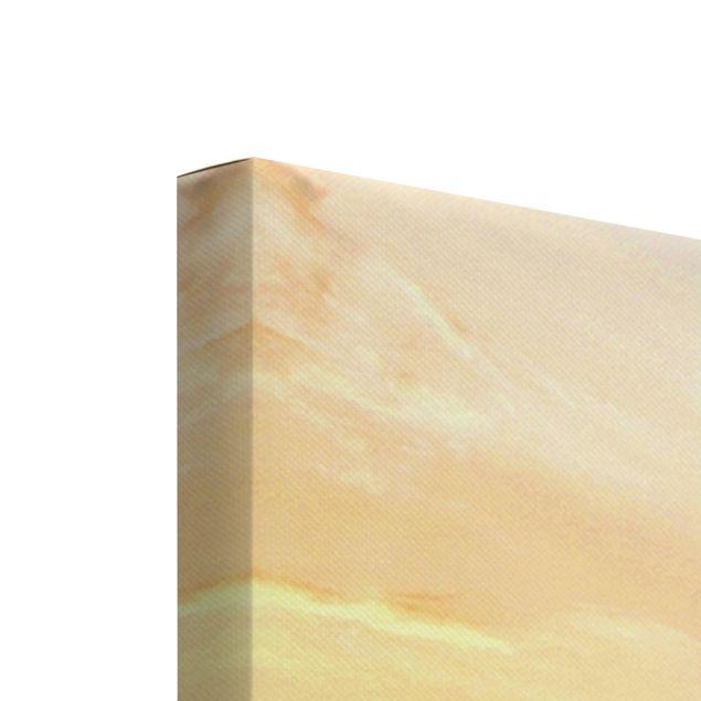 Produktfoto Leinwandbild 5-teilig - Löwe im Sonnenuntergang, Keilrahmen Rückseite, Artikelnummer 216115-FB