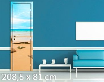 Product picture Door Wall Mural The Beach