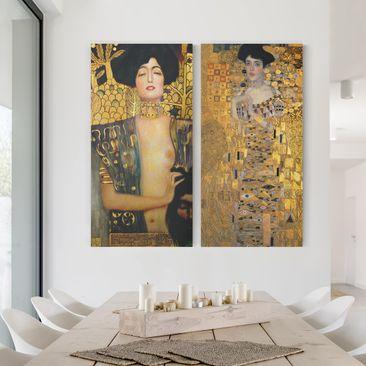 Immagine del prodotto Stampa su tela 2 parti - Gustav Klimt -...