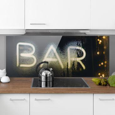 Immagine del prodotto Paraschizzi in vetro - Personalizzato con foto - Panoramico