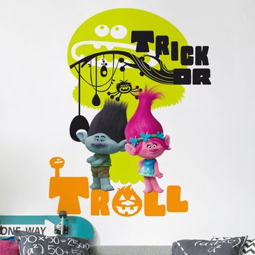 Produktfoto Wandtattoo Trolls - Halloween