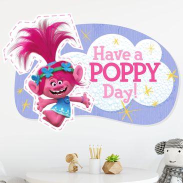 Produktfoto Wandtattoo Trolls - Have A Poppy Day!