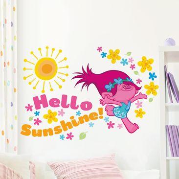 Produktfoto Wandtattoo Trolls - Hello Sunshine!