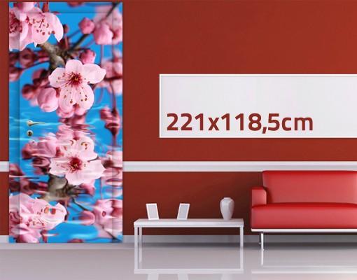 Produktfoto TürTapete Kirschblüte