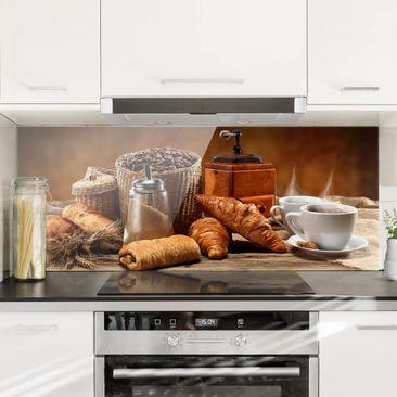 Immagine del prodotto Paraschizzi in vetro - Breakfast Table - Panoramico