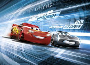 Produktfoto Disney Cars 3 Kindertapete - Simulation - Komar Fototapete