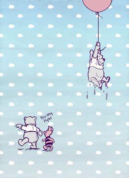 Produktfoto Winnie Pooh Kindertapete - Piglet - Komar Fototapete