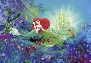 Produktfoto Disney Kindertapete - Arielle´s Schloss - Komar Fototapete