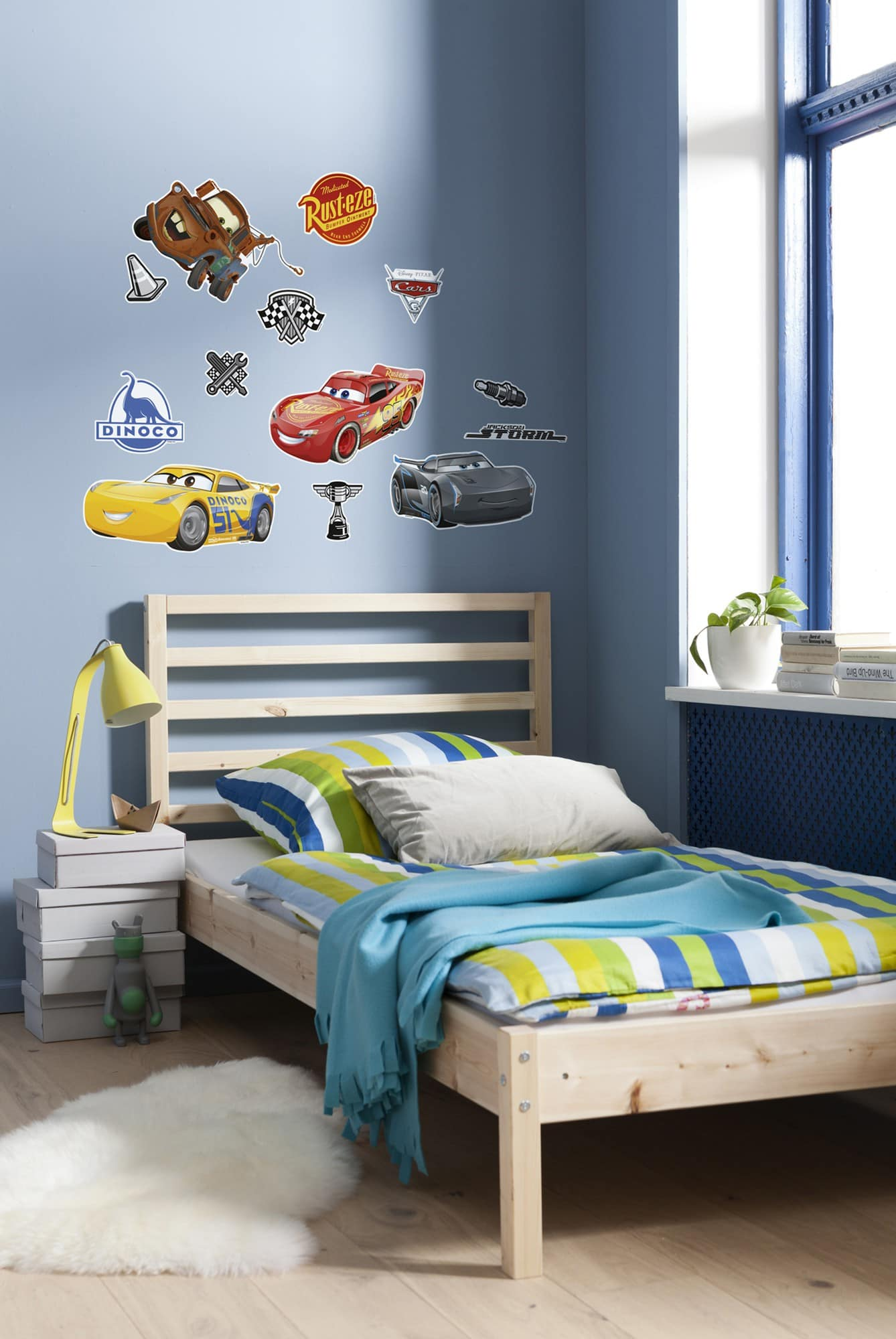 Disney cars wandtattoo kinderzimmer cars 3 komar deco - Kinderzimmer cars ...
