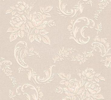 Produktfoto A.S. Création Mustertapete - Belle Epoque - Papier Beige Creme Metallic 338672