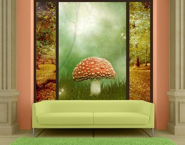 Produktfoto Window Mural Fly Agaric