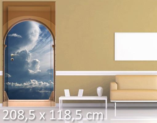 Produktfoto TürTapete Das Tor zum Himmel