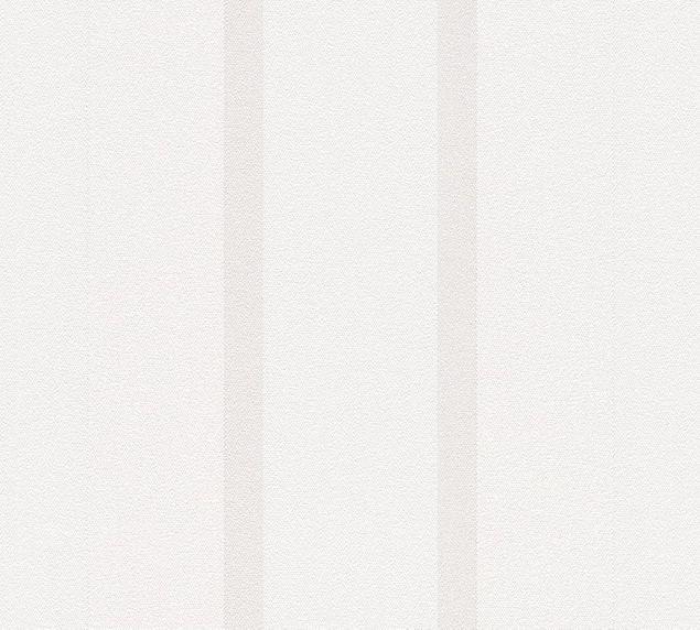 a s cr ation streifentapete essentials vlies grau wei 307162. Black Bedroom Furniture Sets. Home Design Ideas