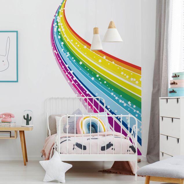 Produktfoto Wandtattoo Kinderzimmer No.620 Rainbow