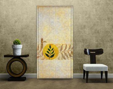 Immagine del prodotto Carta da parati adesiva per porte - Asia Pattern