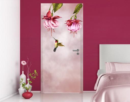 Produktfoto TürTapete Kolibri