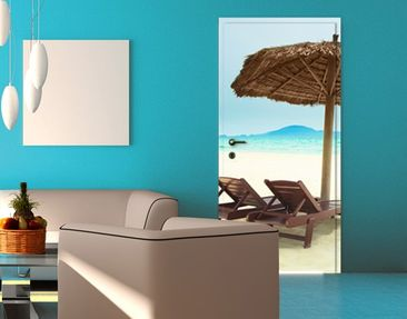 Produktfoto Door Wall Mural Beach of Dreams