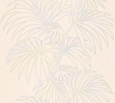 Produktfoto A.S. Création florale Tapete - Reflection - Vlies Beige Bunt Metallic 319981