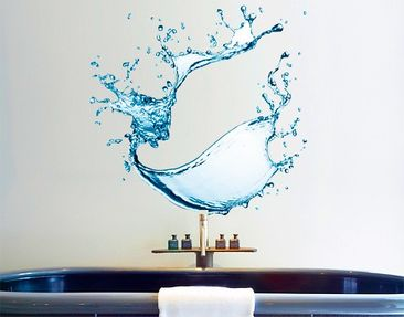 Produktfoto Wall Decal No.471 Splashing Water