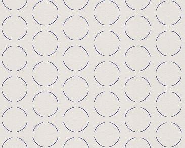 Produktfoto Architects Paper Mustertapete - AP 2000 Design by Studio F.A. Porsche - Vlies Grau Metallic 960643