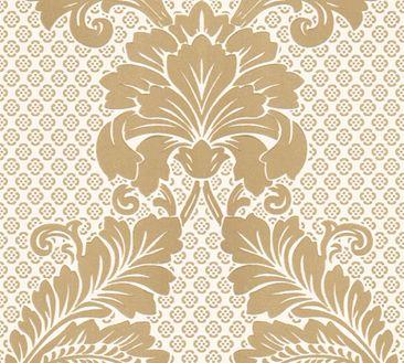 Produktfoto Architects Paper Mustertapete - Luxury wallpaper - Vlies Creme Metallic 305442