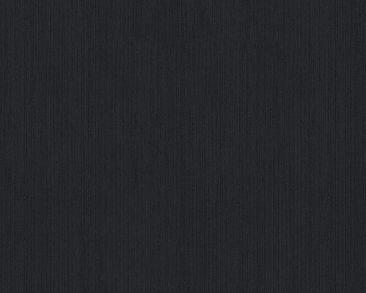 Produktfoto Architects Paper Uni-Textiltapete - Metallic Silk - Vlies Schwarz 968531