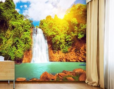 Produktfoto Photo Wall Mural Paradise Lagoon