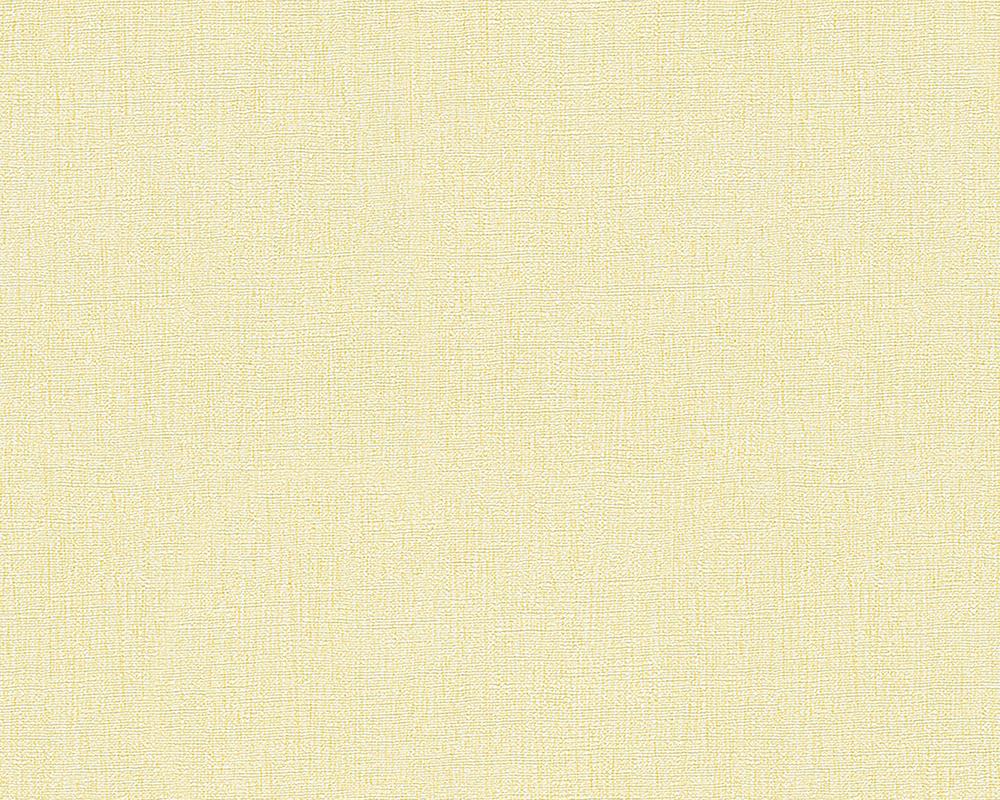 livingwalls uni tapete oilily atelier vlies gelb mit struktur 311436. Black Bedroom Furniture Sets. Home Design Ideas