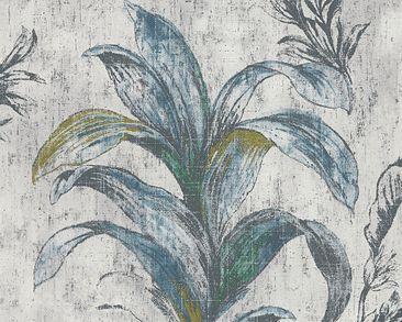 Immagine del prodotto Carta da parati Michalsky Living in tessuto floreale - Michalsky 2 - Beige Verde Grigio 304561