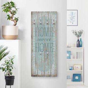 Immagine del prodotto Appendiabiti in legno - Sweet Home - Ganci cromati - Verticale