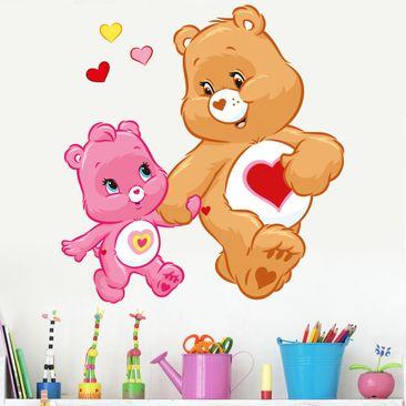 Immagine del prodotto Adesivo murale - Wonderheart Bear hand in hand