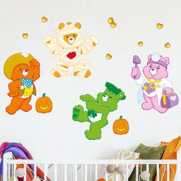 Immagine del prodotto Adesivo murale - Care Bears Halloween Set