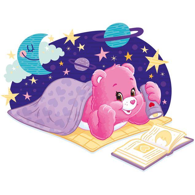 Produktfoto Wandtattoo -  Glücksbärchis Wunderherzbärchi liest ein Buch