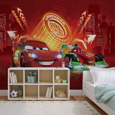 Produktfoto Fototapete - Disney Cars Lightning McQueen Bernoulli - Vliestapete 752WM