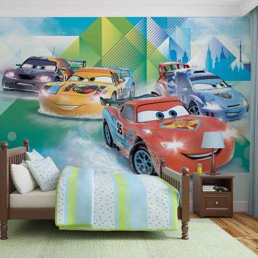Produktfoto Fototapete - Disney Cars Lightning McQueen Camino - Vliestapete 3211WM