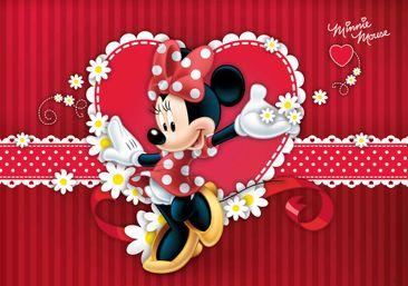 Produktfoto Fototapete - Disney Minnie Mouse - Vliestapete 4-015WM