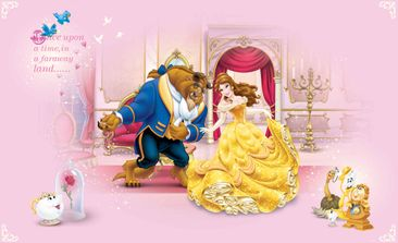 Produktfoto Fototapete - Disney Prinzessinnen Schöne Biest - Vliestapete 592WM