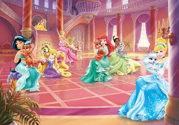 Produktfoto Fototapete - Disney Prinzessinnen Cinderella Jasmin - Vliestapete 2489WM
